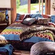 Afordisia African Theme Double Bed Quilt Cover Set
