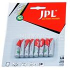 JPL AAA Red Super Heavy duty Batteries  80 Batteries, 10 pack of 8 batteries