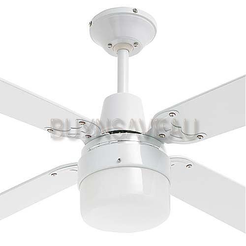 Cohen 1200mm 4 Blade Ceiling Fan With Clipper Light Buy